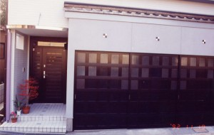 菊川の家玄関