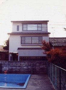菊川の家外観