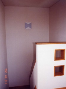 菊川の家階段