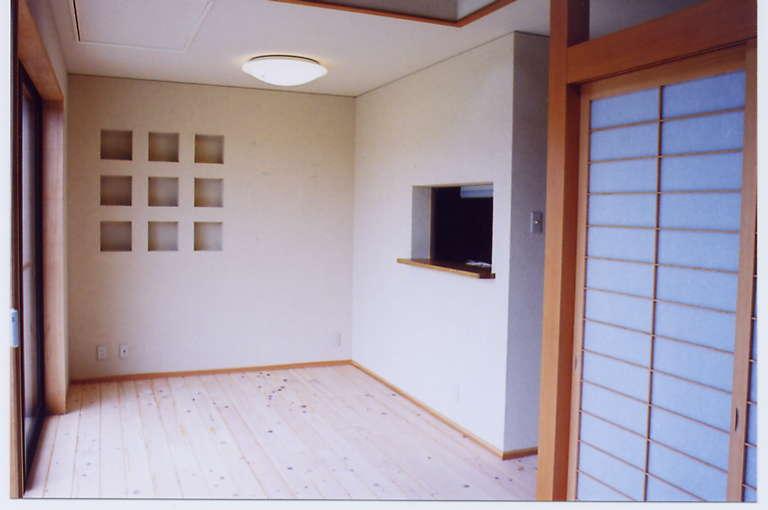 田上新町の家リビング