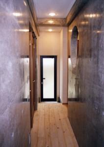 田上新町の家廊下