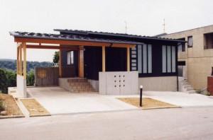 田上新町の家外観2