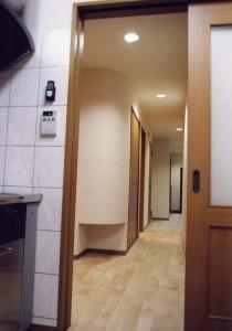 太田の家廊下