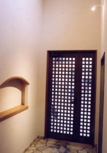 太田の家玄関