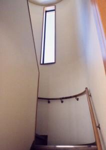 田上本町の家階段