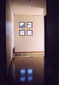 田上本町の家廊下