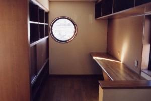田上本町の家キッチン