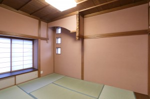 高岡の家 和室