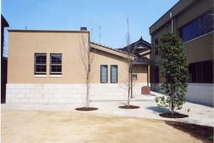 川田病院浴場棟外観