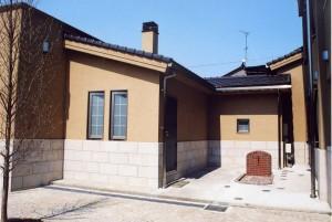 川田病院浴場棟入口